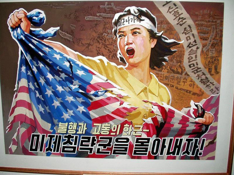 Anti-American Countries DPRK Poster