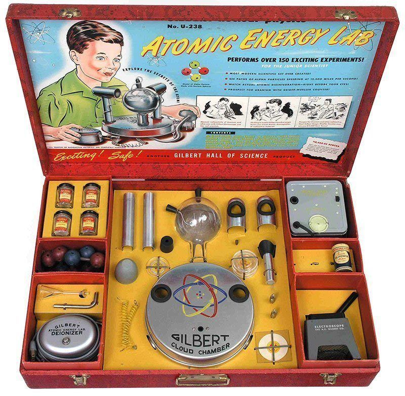 Banned in America Atomic Energy Lab