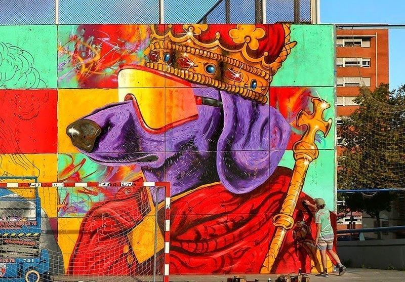 Madsteez Street Art Spain