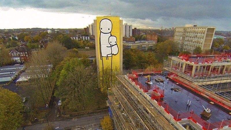 Stik Street Art