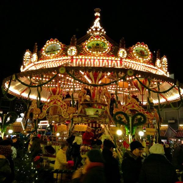 Christmas In Nuremberg Carousel