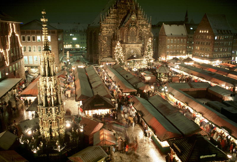 Christmas In Nuremberg City