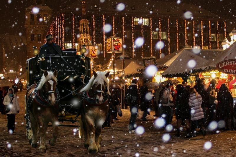 Christmas In Nuremberg Snow