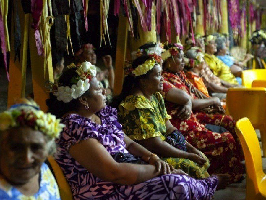 Climate Migrants Tuvalu Women