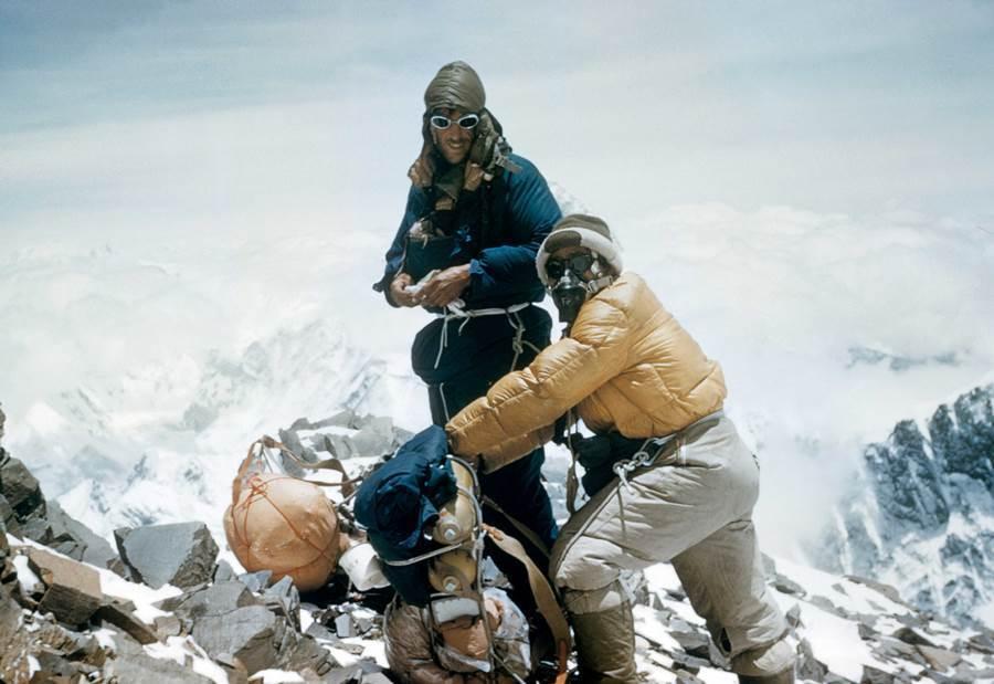 Edmund Hillary Tenzing Norgay Mount Everest 1953