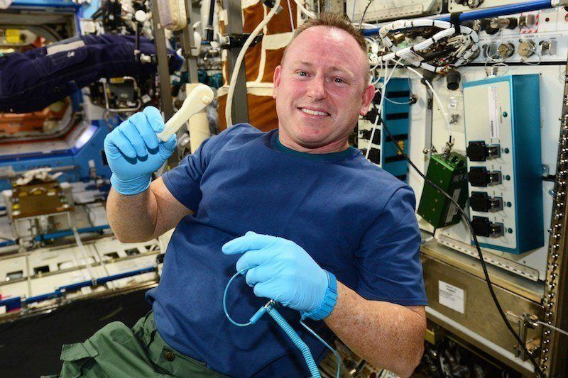 NASA emailed a wrench to space