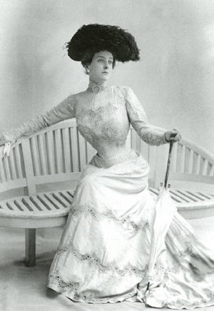 Emily Post In A Corset