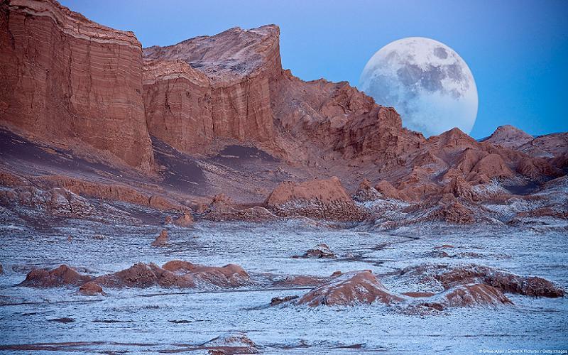 Extreme Climates Atacama Moonrise