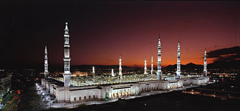 Extreme Climates Night Mosque