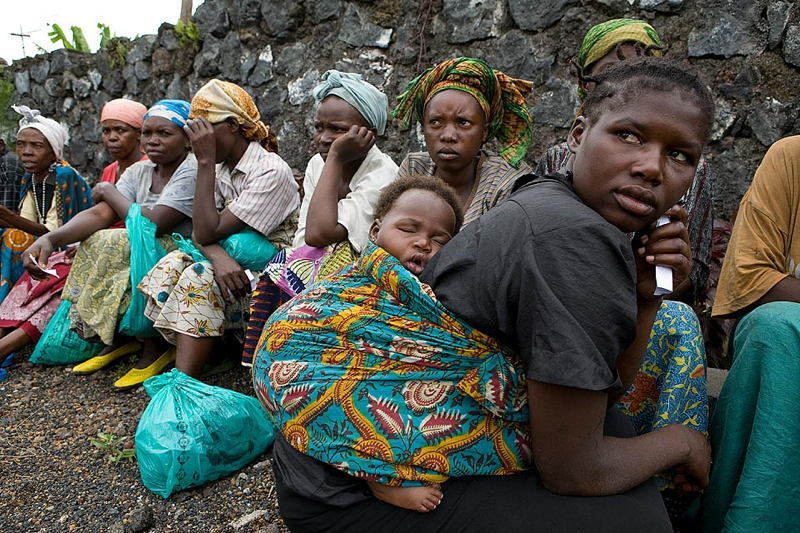 Global Poverty DRC Refugeesw