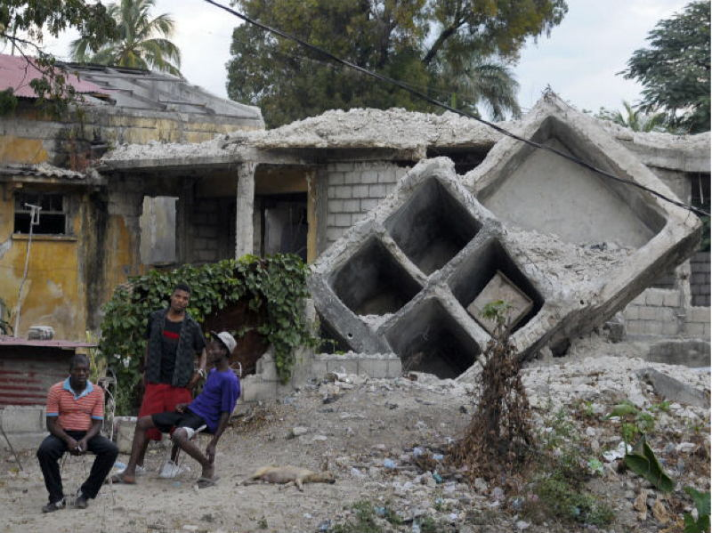 Haiti House Poverty