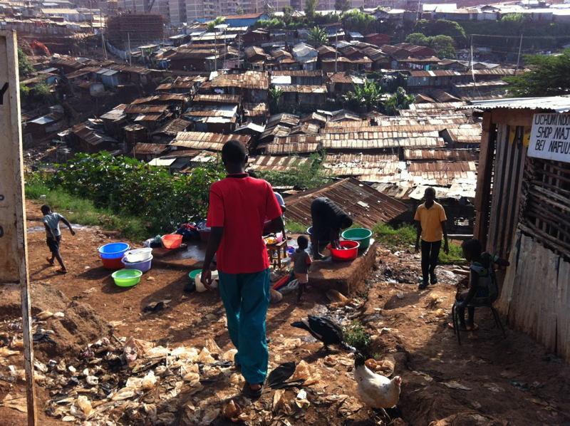 Global Poverty Kenya Kibera