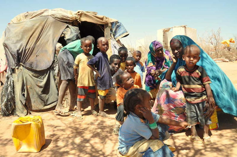 Global Poverty Somalia Drought