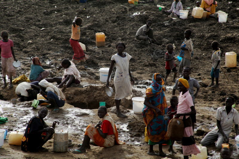 Global Poverty South Sudan Water