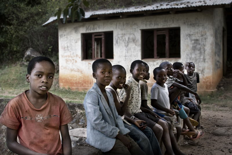 Global Poverty Tanzania Schoolchildren