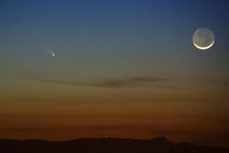 Comet Moon
