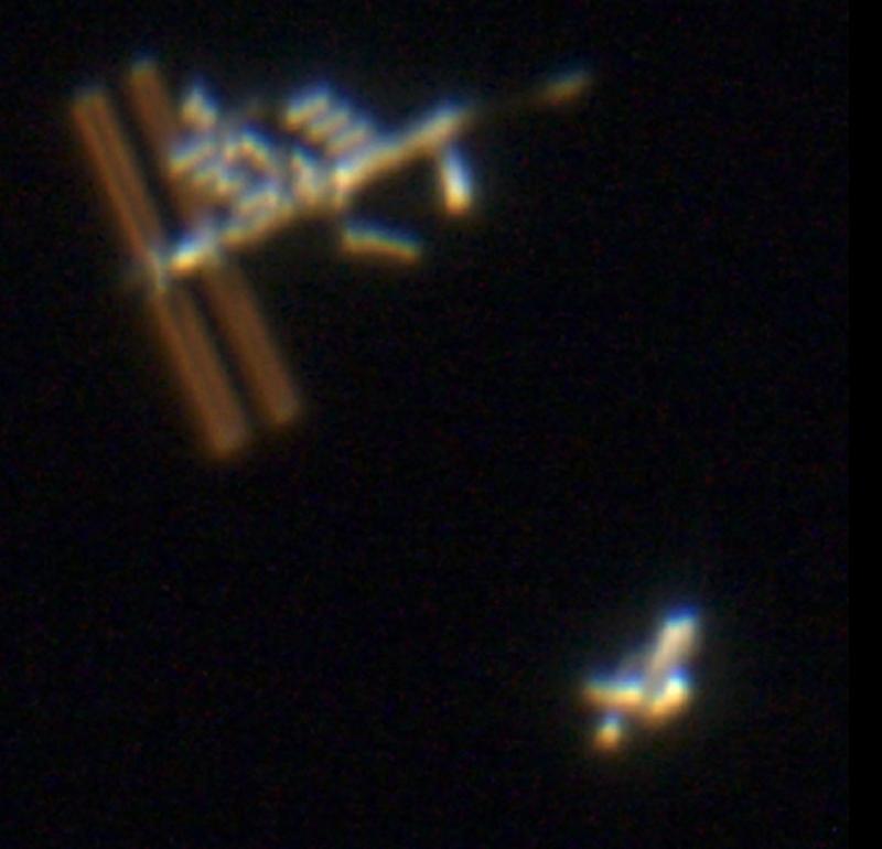 Astronomy Basics ISS Atlantis