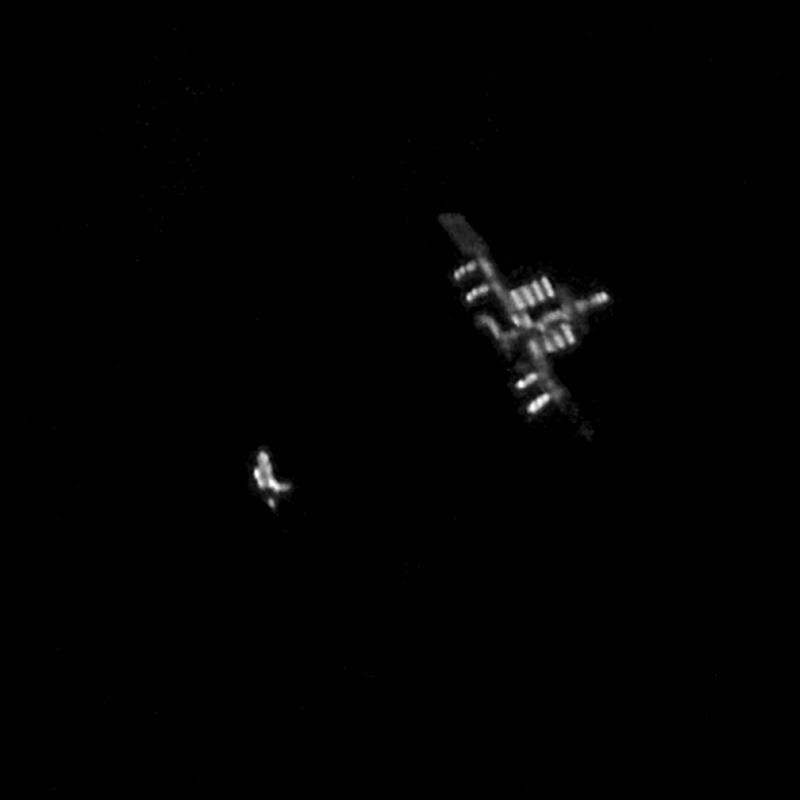 Astronomy Basics ISS Discovery