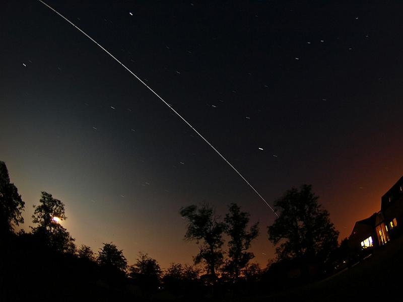 Astronomy Basics ISS Night