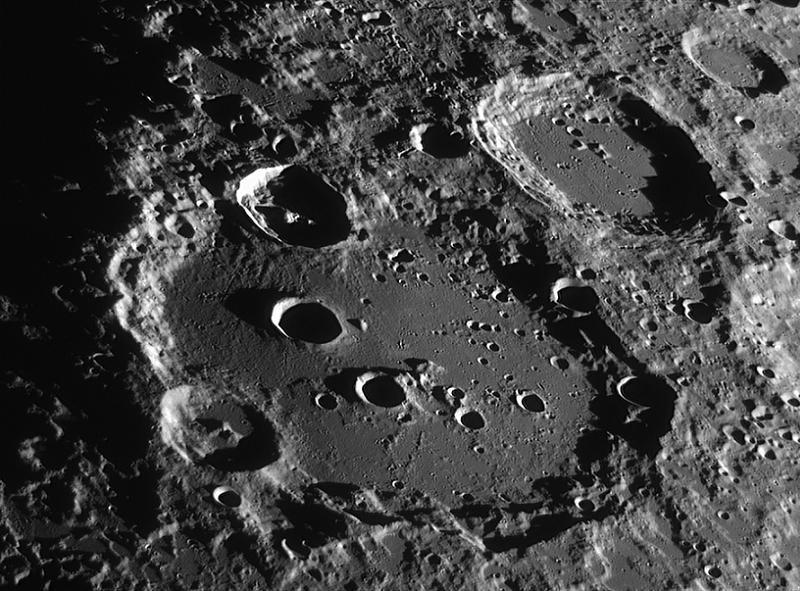 Astronomy Basics Lunar Crater