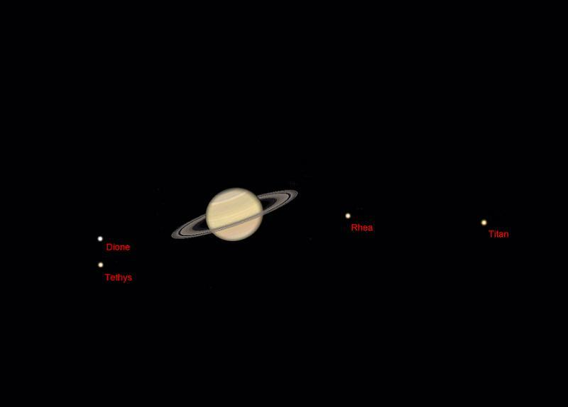 Astronomy Basics Saturn Moons