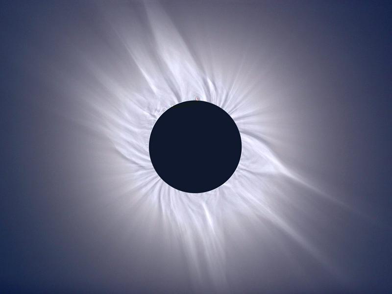 Astronomy Basics Eclipse VIolet
