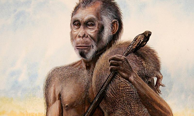 Homo Floresiensis Hunter