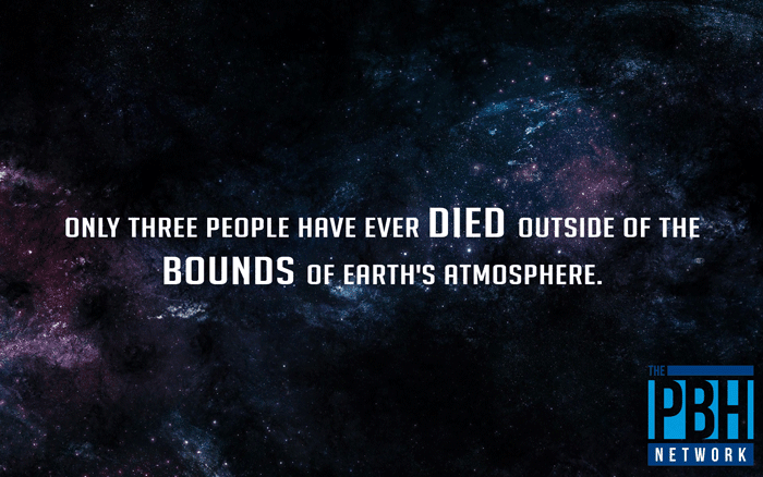 Humans Who Have Died Outside Of Earth's Atmosphere