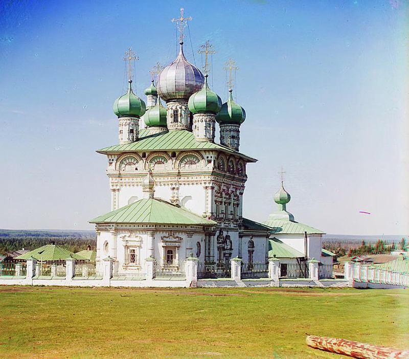 Russia In Color Church