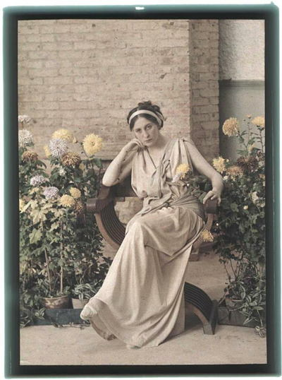 Russia In Color Crimean Woman