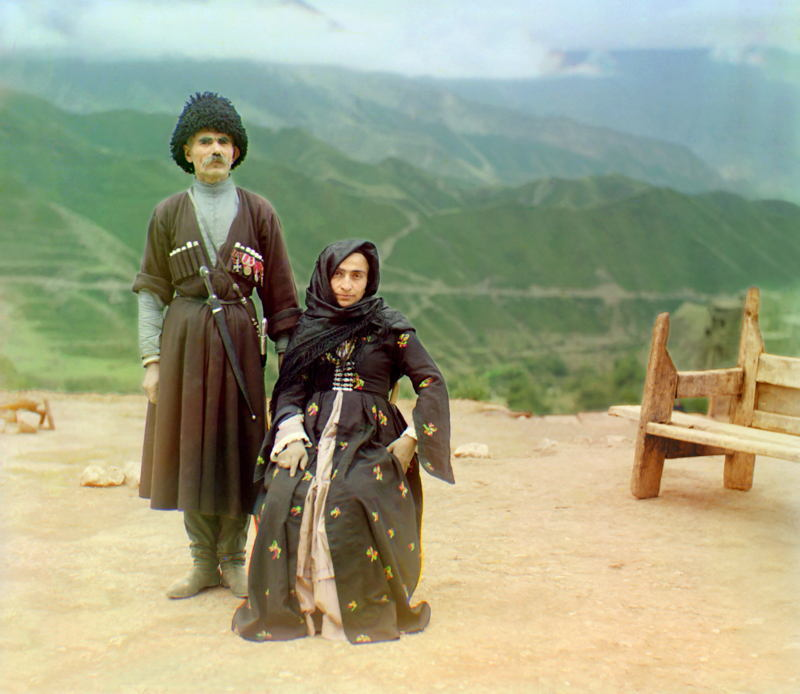 Russia In Color Dagestan