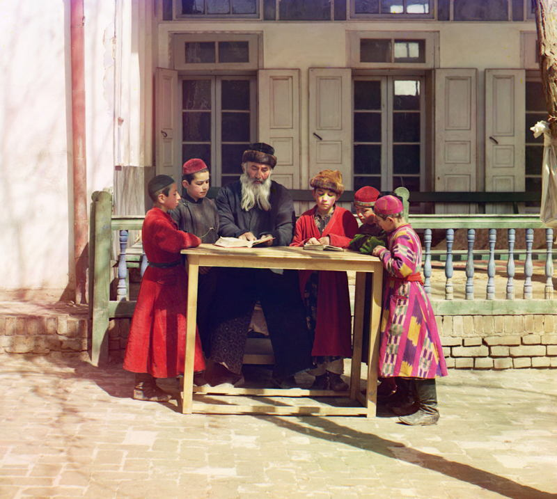 Imperial Russia In Color Jewish Teacher