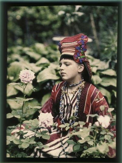 Russia In Color Kosakov Daughter