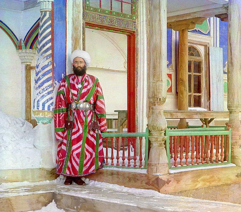 Russia In Color Man Robe