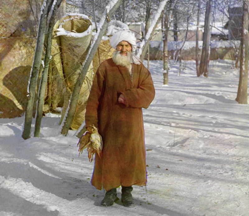 Imperial Russia In Color Samarkand Man