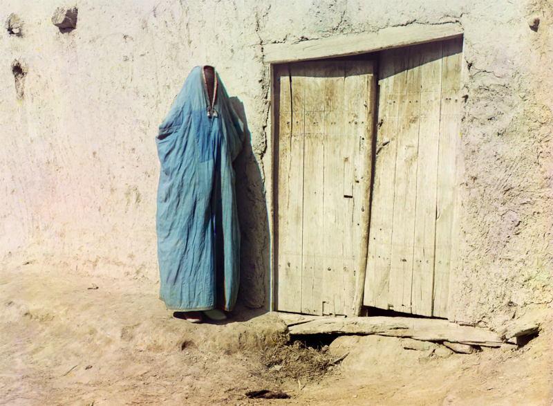 Russia In Color Uzbek Woman