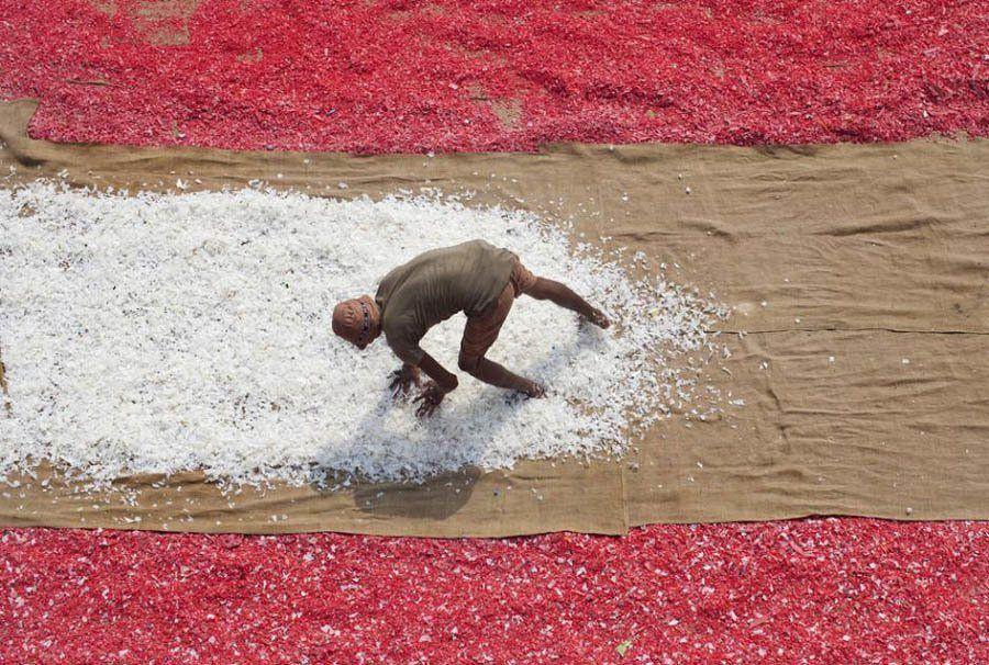 Informal Economy Plastics Worker