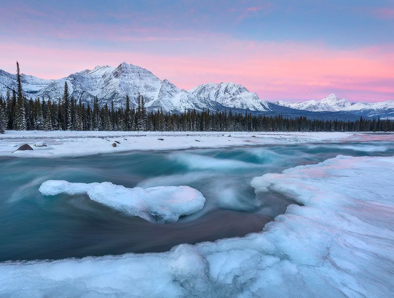 Athabasca at Dawn