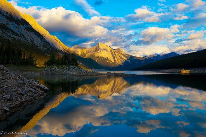 Beautiful Sunrise in Canada