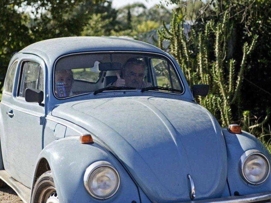 Jose Mujica Driving Beetle