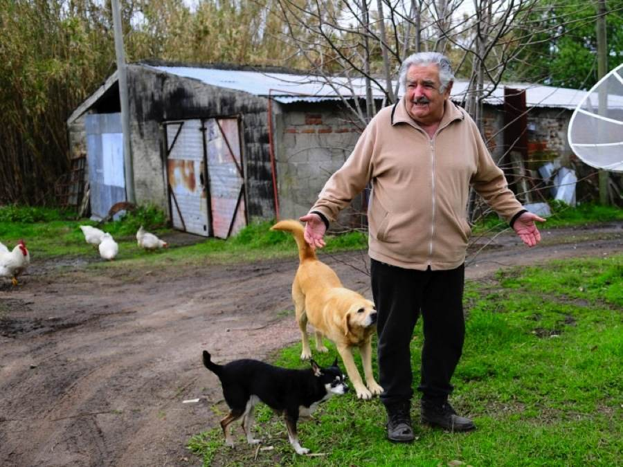 Jose Mujica Rundown Farm