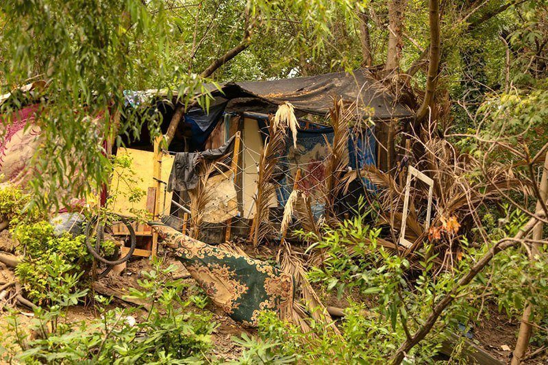 Evicted From The Jungle: Homeless Driven Away in Droves