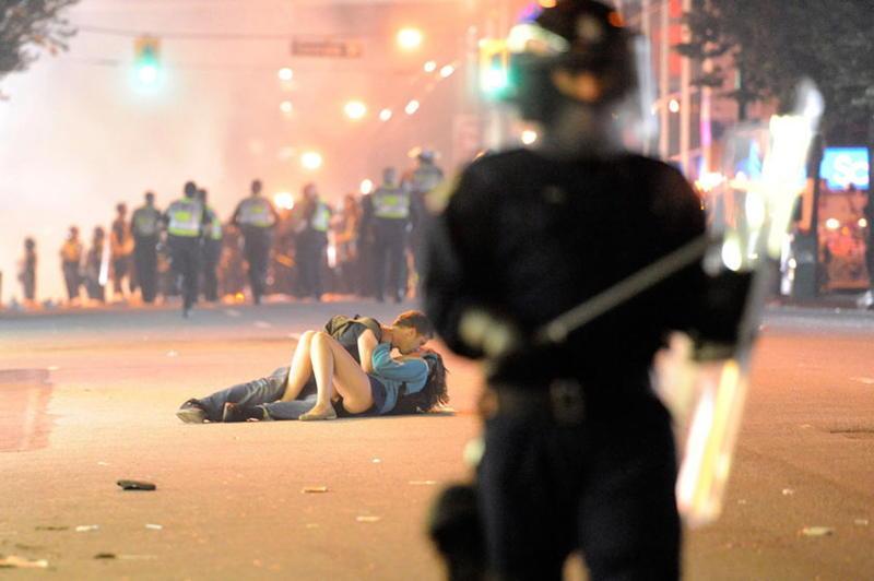 Kiss Riot Police