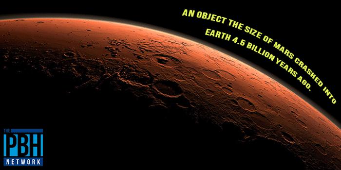 Mars Sized Object