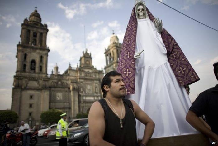 Modern Day Exorcisms Santa Muerte