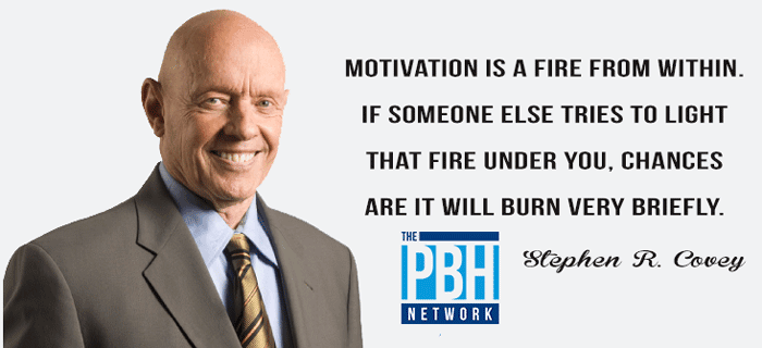 Motivation Is A Fire WIthin