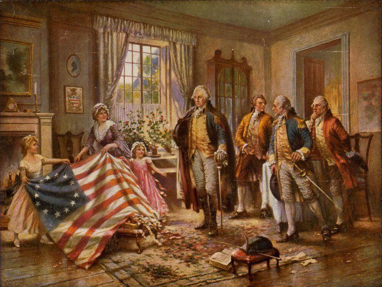 American Myths Betsy Ross