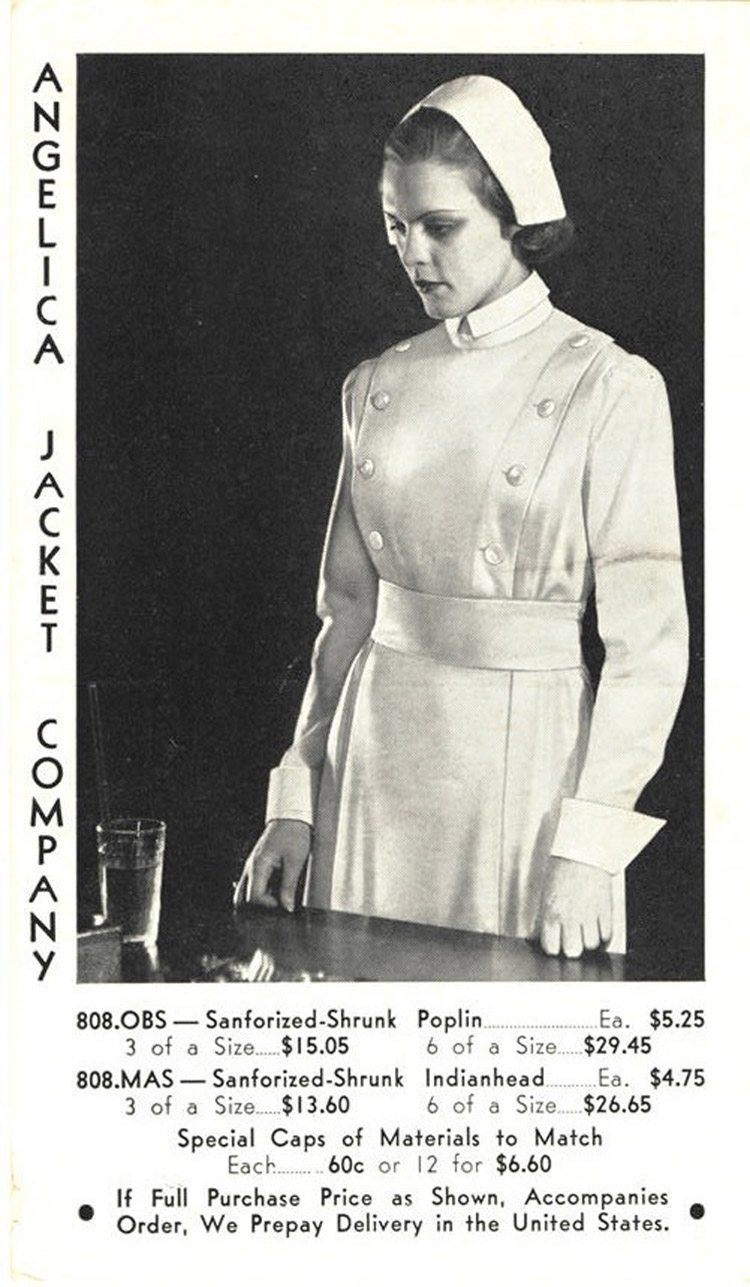 1935: The start of a more modern uniform for the profession.
