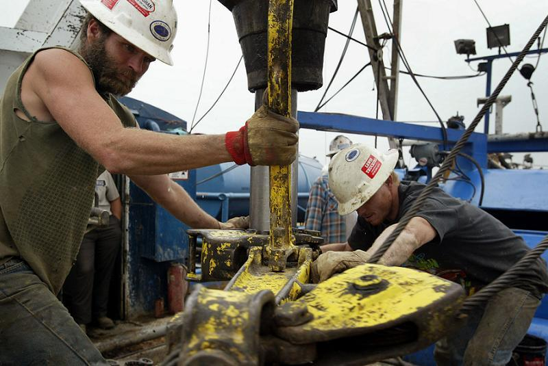 Oil Production Business Offshore Men