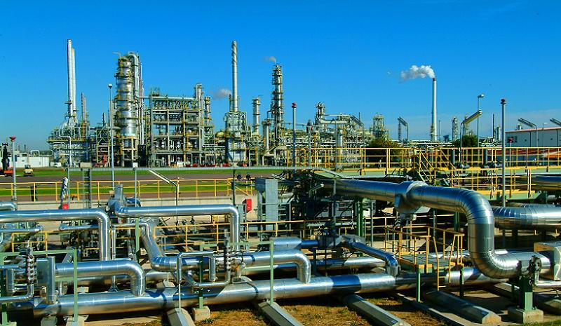 Oil Production Business Daytime Refinery